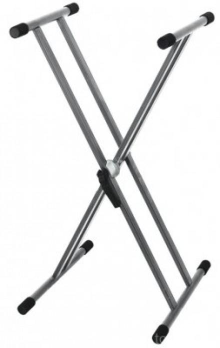 Стойка Gewa Keyboard Stand Silver Grey: фото