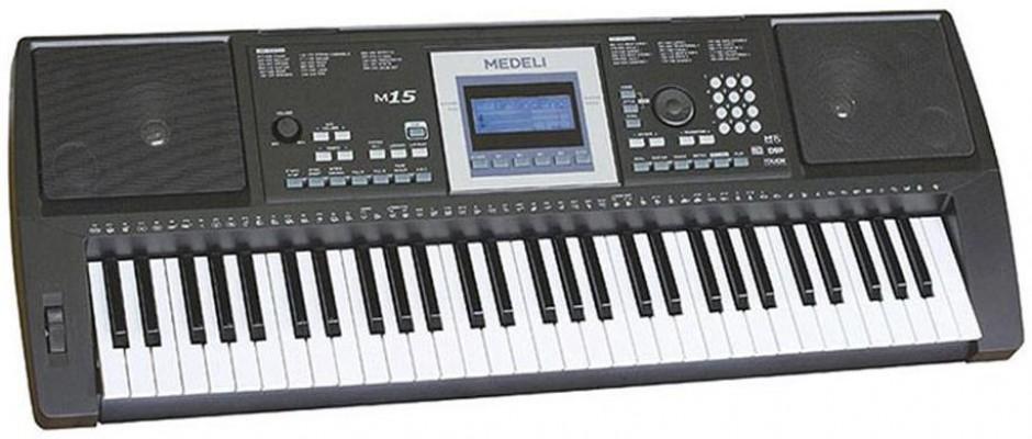 Синтезатор Medeli M15: фото